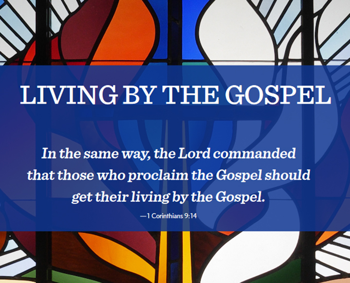 Living by the Gospel